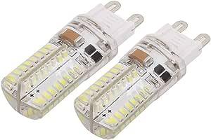 X-DREE 2Pcs AC 220V 3W G9 3014SMD LED Corn Light Bulb 64-LED Silicone Lamp Neutral White (6e03826a-a222-11e9-8d7c-4cedfbbbda4e)