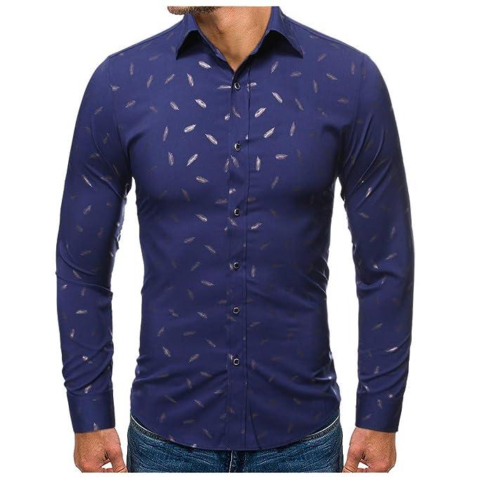 Sylar Camisa Hombre Manga Larga Casual Camisa De Estampado ...
