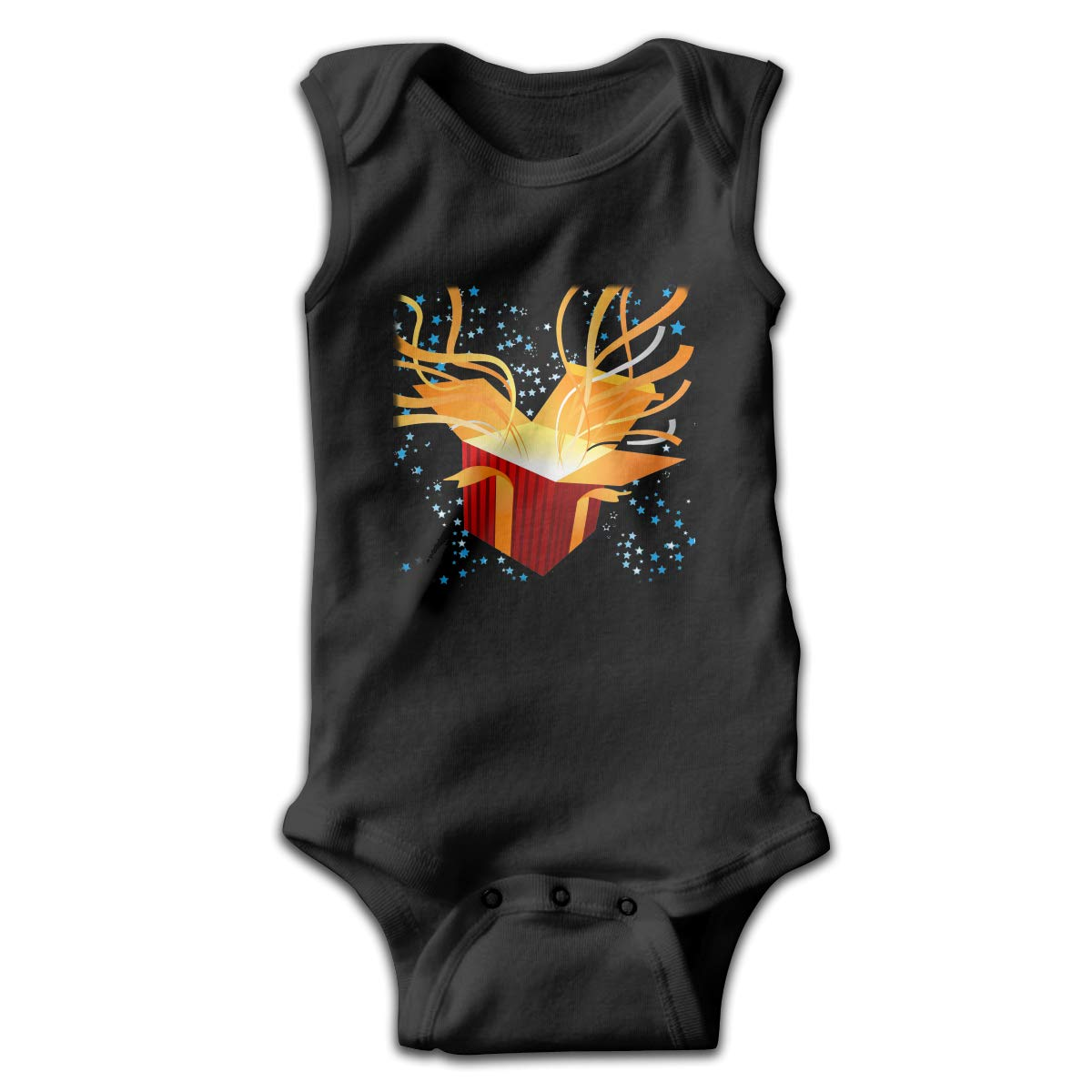 Toddler Baby Boys Rompers Sleeveless Cotton Onesie,Gift Box Outfit Spring Pajamas