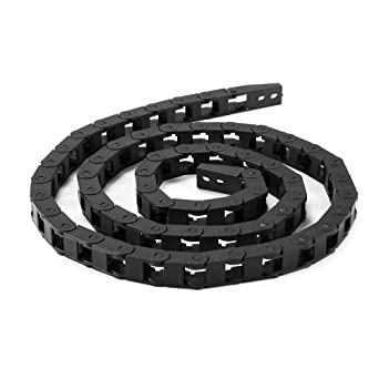 7x7mm 1M Nylon Cable Drag Chain Wire Carrier Part for CNC Router ...