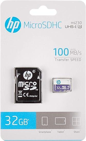 Hp Sdu U3 Micro Sd Xe Card 32gb Elektronik