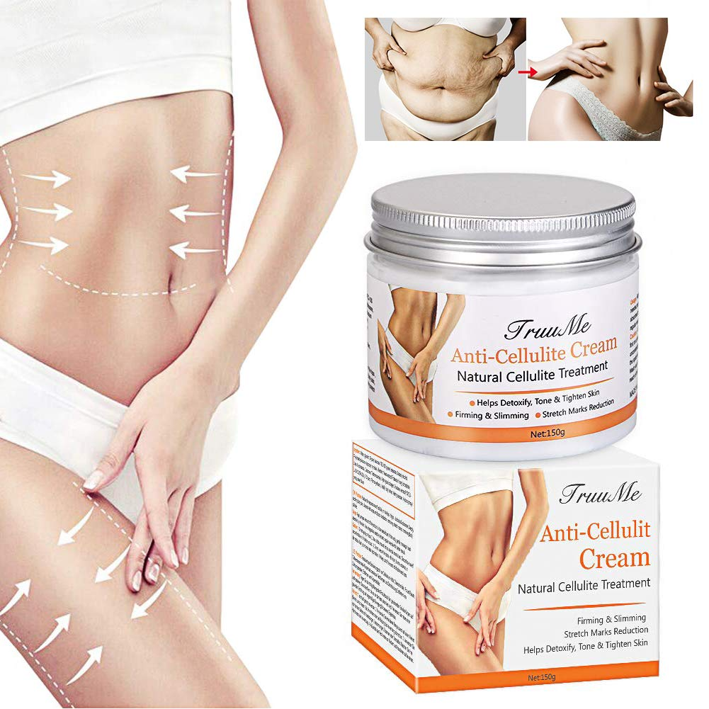 Anti Cellulite Cream, Slimming Cream, Skin Firming Cream, Organic Body Slimming Cream, Natural Cellulite Treatment Cream for Thighs, Legs, Abdomen, Arms and Buttocks, for Body Sculpting &Removing Stre by CIDBEST