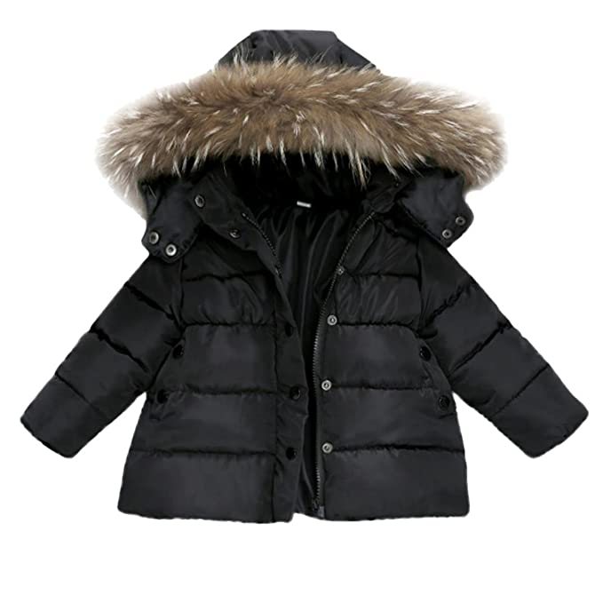 5cc51afd7 FORESTIME Baby Girls Boys Kids Down Jacket Coat Down Feather Winter Warm  Children Clothes