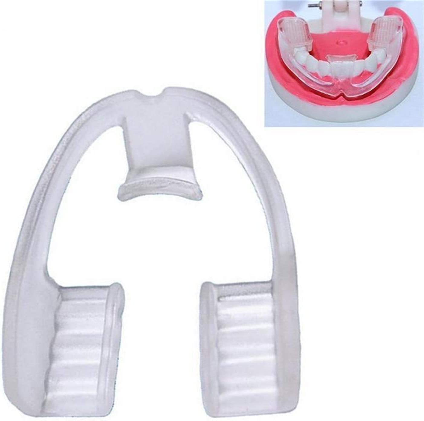 2Pcs No Need to Regrind Your Teeth at Night, Food Grade EVA Mouthguard, Dental Night Protector, Dental Mouthguard