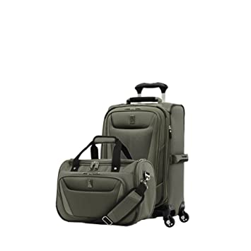 e70e27296840 Travelpro Luggage Maxlite 5 | 2-Piece Set | Soft Tote and 21-Inch Spinner  (Slate Green)