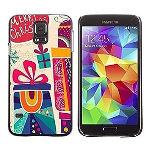 Be Good Phone Accessory // Dura Cáscara cubierta Protectora Caso Carcasa Funda de Protección para Samsung Galaxy S5 SM-G900 // Christmas Gift Holidays Winter