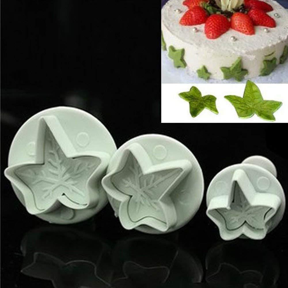 Strawberry WJSYSHOP Strawberry Shape Silicone Chocolate Fondant Biscuit Mold Cake Decorating Baking Mould
