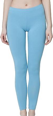 celodoro - Leggings de algodón para Mujer - hasta el Tobillo: Amazon.es: Ropa y accesorios