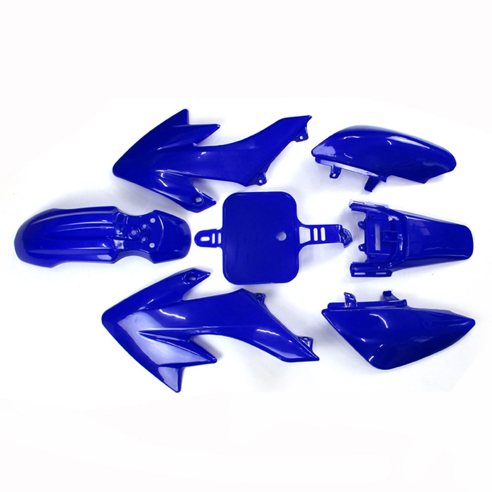 TC-Motor Blue Plastic Fender Fairing Kits Kit For Honda XR50 CRF50 50 Chinese 50cc 70cc 90cc 110cc 125cc 140cc 150cc 160cc Dirt Pit Bike