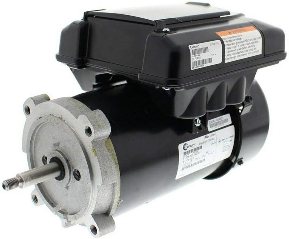 Variable Speed ECM Pool Motor 1/2 hp 2-spd 56J 208-230V Century # ECM16CU