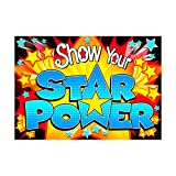 ARGUS Show Your Star Power Poster (1 Piece), 13.38