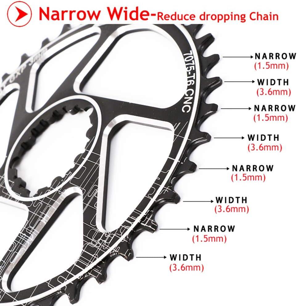 JESSICA GXP 170mm Chain set 32-38T 3mm Chainring MTB Bike Narrow Wide Chainwheel