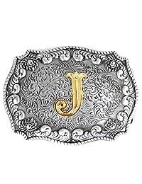 Pancy Western Style Cowboy Letter Belt Buckle For Men