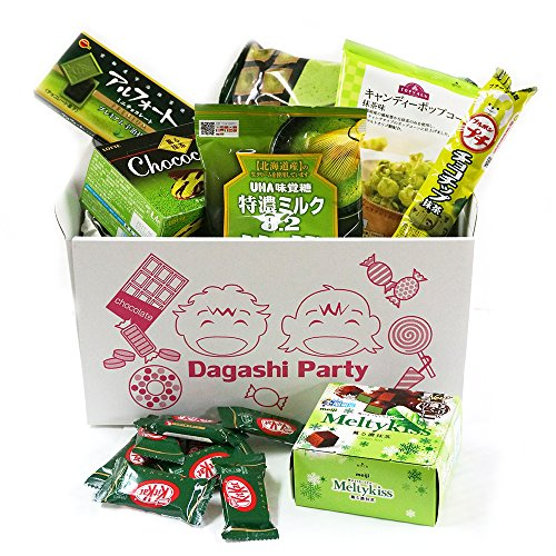 Assorted-Japanese-Maccha-Green-Tea-Flavor-Junk-Food-Snacks-Dagashi-Party-Gift-Variety-Bulk