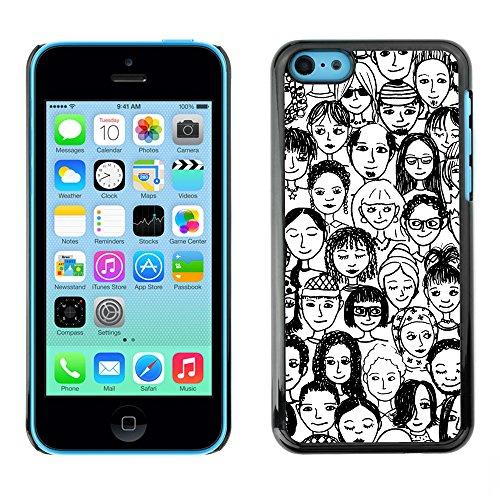 Premio Sottile Slim Cassa Custodia Case Cover Shell // V00002420 Gens // Apple iPhone 5C
