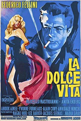 Amazon.com: La Dolce Vita - 1960 - Movie Poster: Posters & Prints