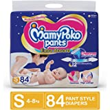 MamyPoko Pants Extra Absorb Diaper, Small (Pack of 84)