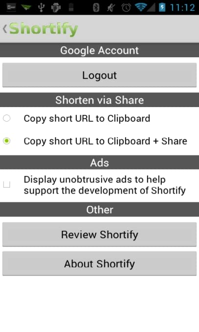 Shortify - URL Shortener