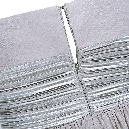 A Grau Linie 34 42 Damen iiniim Kleid Pqwz5x8
