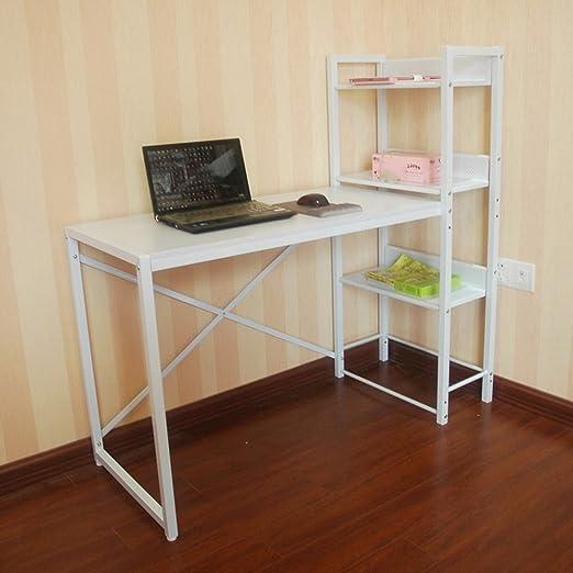 mesa plegable ZZHF Mesa de Trabajo Multifuncional Mesa de Trabajo Mesa de Aprendizaje Mesa de Aprendizaje Dormitorio para Estudiantes Mesa 2 Color Opcional Escritorios (Color : Blanco): Amazon.es: Hogar