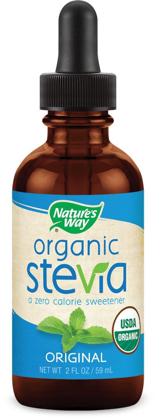 Nature's Way Stevia USDA Organic Original Supplement, 2 Ounce