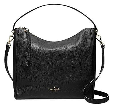 Amazon.com  Kate Spade Charles Street Small Haven Black Leather ... 9b146998e5c53