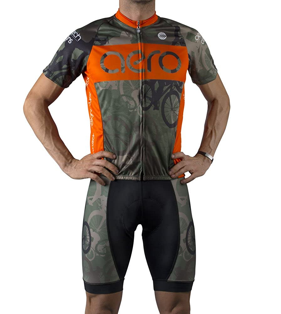 Amazon.com: Bosque Camuflaje Ciclismo Jersey: Clothing