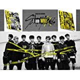 STRAY KIDS 2nd Mini Album I am WHO 2CD [I am+WHO ver.] Music Album Set + 2 Official Posters + 6 QR Photo Cards