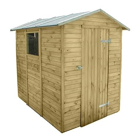 Casetta legno trattato 175x233x214cm per esterni porta attrezzi ...