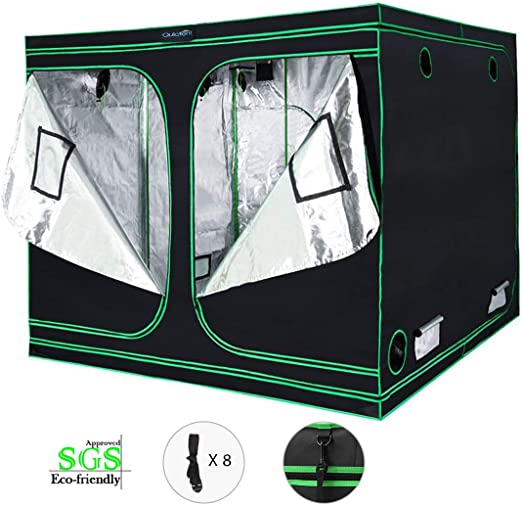 Quictent SGS Approved Eco-Friendly Reflective Mylar Hydroponic Grow Tent - The Runner Up