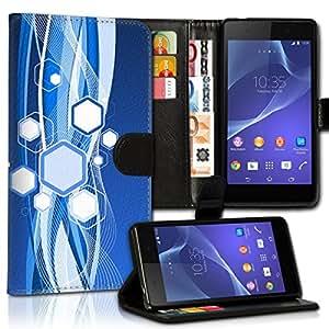 Wallet Wicostar–Funda Case Funda Carcasa diseño Funda para LG K10–Diseño Flip mvd92
