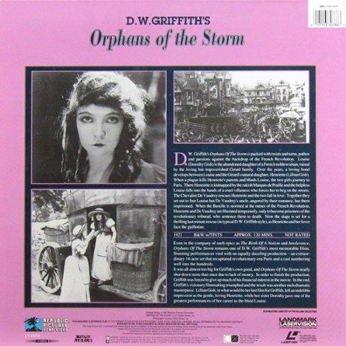 Orphans of the Storm {Laserdisc}
