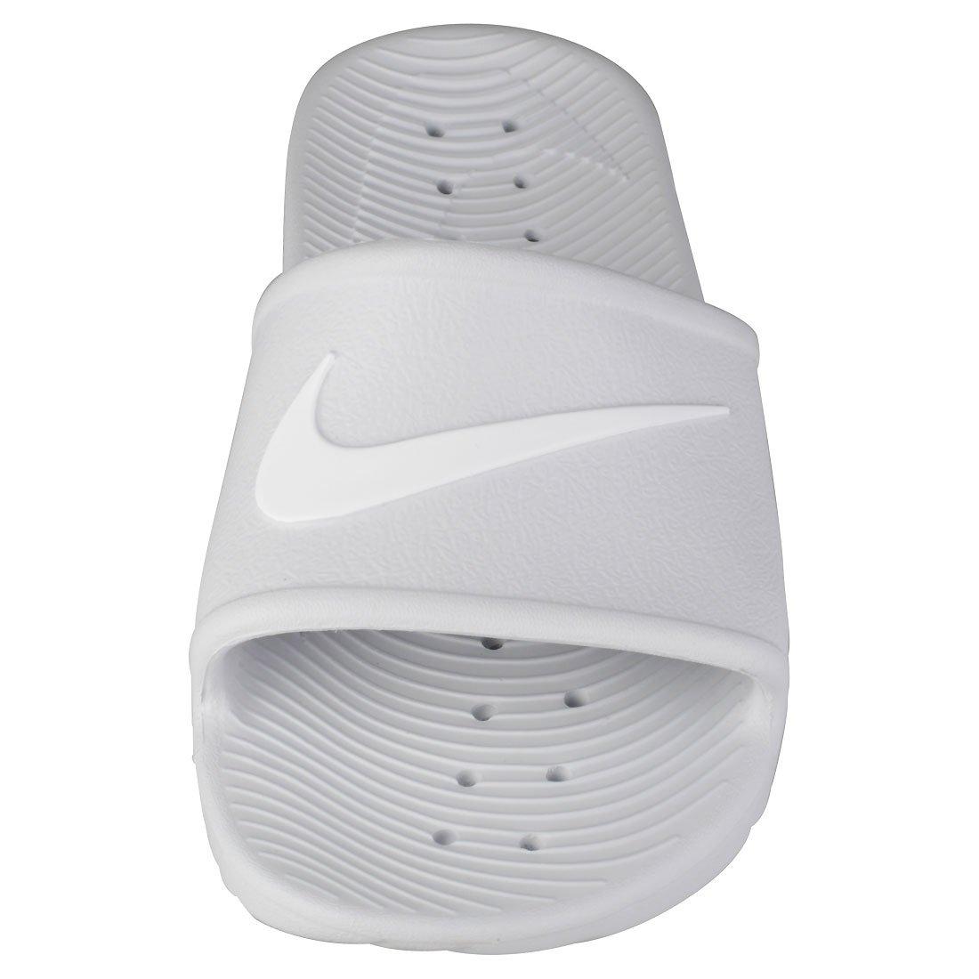 NIKE Women's Kawa Shower Slide Sandals B06WGQSPXR 5 B(M) US Pure Platinum/White
