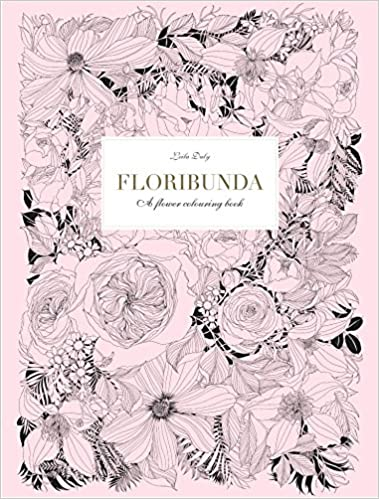 Ipad Coloring Book Le Pencil : Floribunda: a flower coloring book: leila duly: 9781780677682