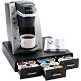 AmazonBasics Coffee Pod Storage Drawer for K-Cup Pods, 36 Pod Capacity