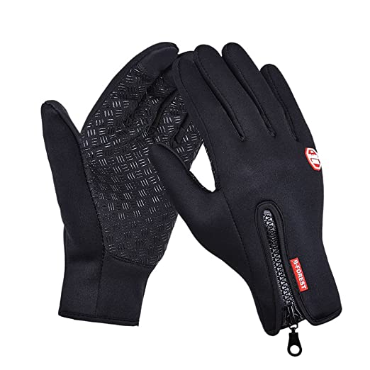 Full Finger Gloves Waterproof Touch Screen For Cycling Bycicle Bike Motorcycle