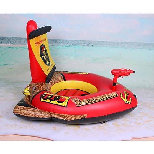 Anillo de natación flotante juguete pistola de agua de barco ...