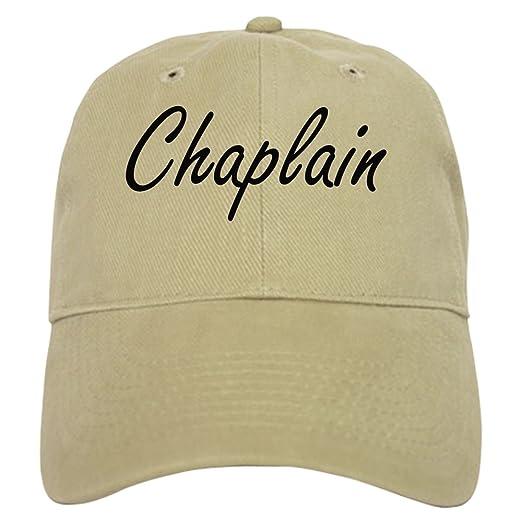 ed8febd632a CafePress - Chaplain Artistic Job Design - Baseball Cap with Adjustable  Closure