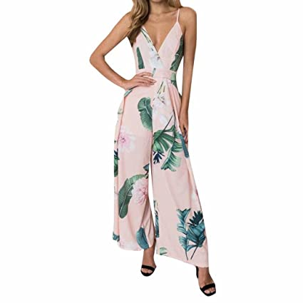 75b93552d22b Image Unavailable. Image not available for. Color  Summer Backless Jumpsuits