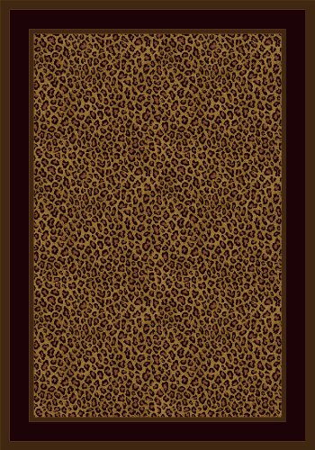 Milliken 4000040394 Innovations Collection Zimbala Oval Area Rug, 5'4