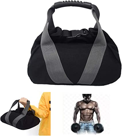 Adjustable Kettle Bell Sandbag Portable Weight Weightlifting Dumbbell Fitness Body Building Training Domeilleur Kettle Bell Sandbag