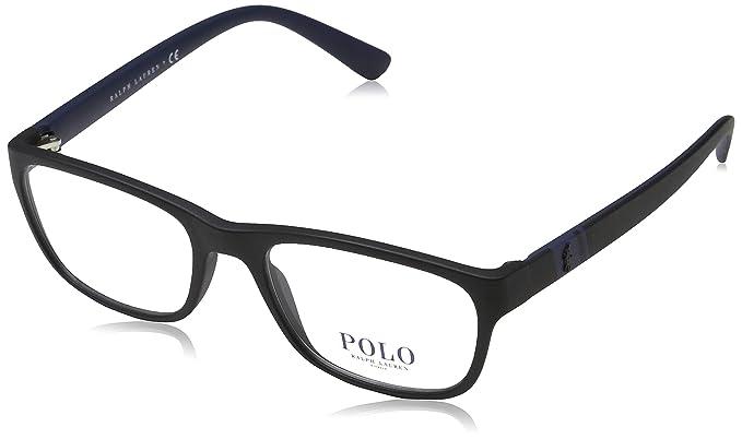 Ralph Lauren POLO 0PH2153 Monturas de gafas, Matte Black, 50 para ...
