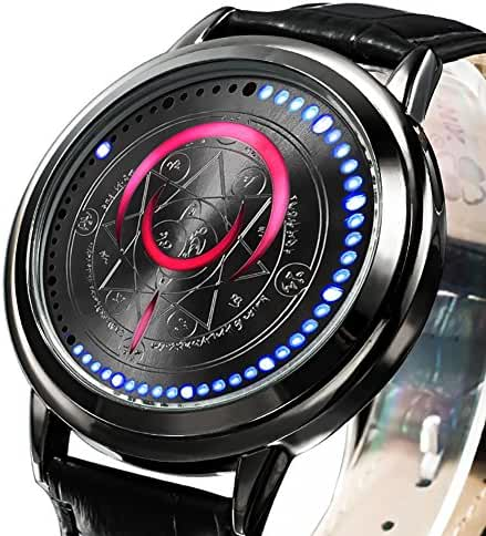 Wildforlife Anime Fate/stay night UBW Tohsaka Rin Archer Command Seal Collector's Edition LED Watch