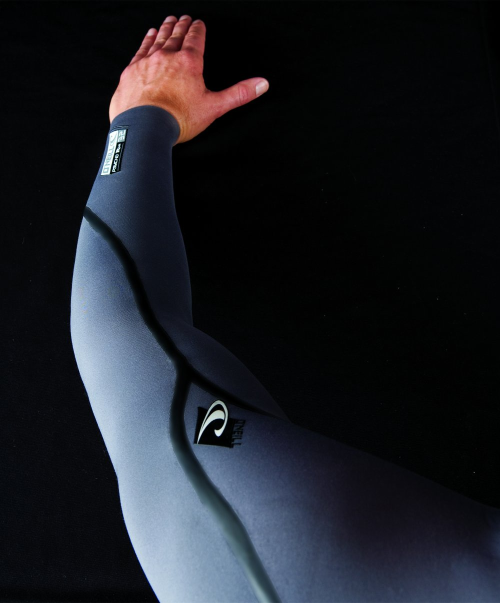 O'Neill Men's Dive J-Type 7mm Back Zip Full Wetsuit with Hood, Black, Large Short by O'Neill Wetsuits (Image #5)