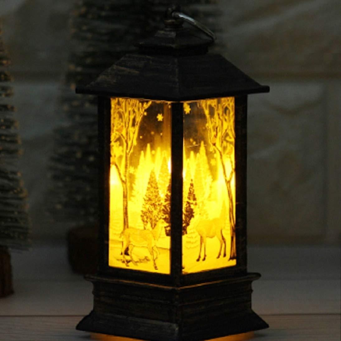 Gallity Nightlight Decoration Christmas Candles, LED Tea Light Christmas Candles Christmas Decoration (2PCS)
