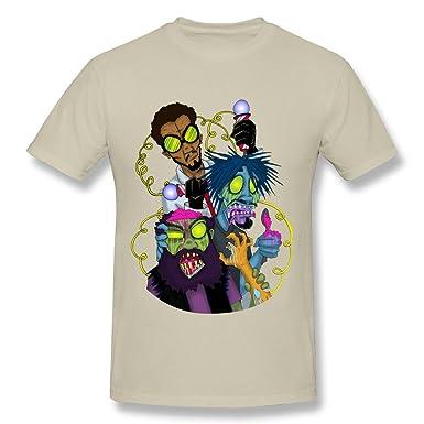 Kazzar Mens Flatbush Zombies Fan Art T Shirt XL