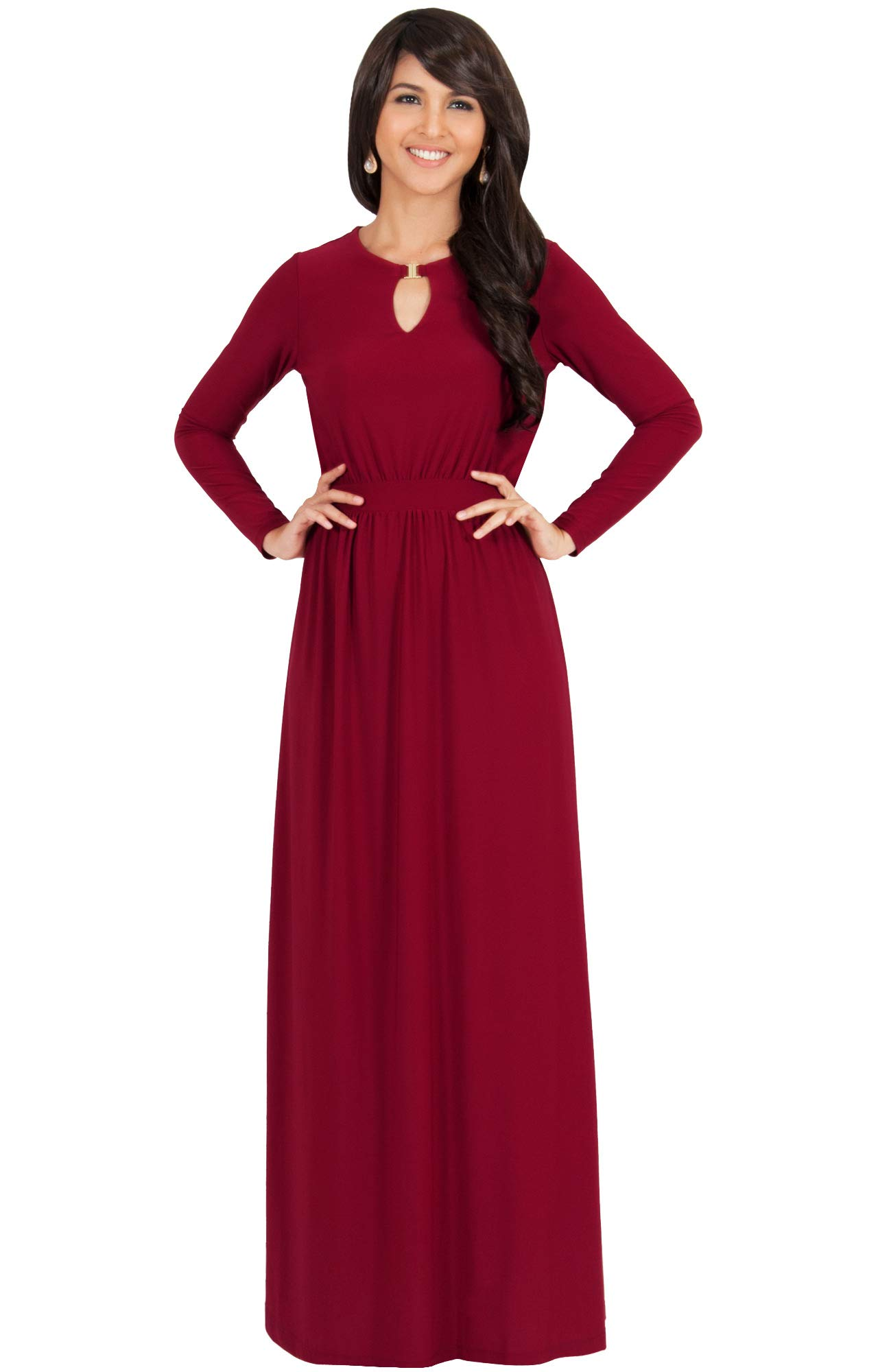 fbf9124c54 KOH KOH Sleeve Modest Flowy Summer Sexy Gown Cocktail – Shop New ...