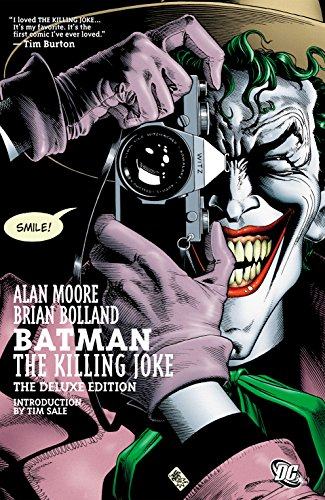 Batman: The Killing Joke (Deluxe Edition) (First The Worst Second The Best Rhyme)