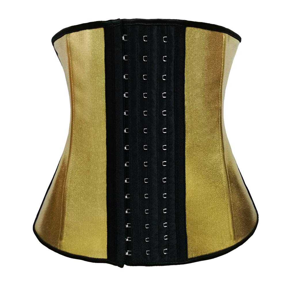 Snatched Girls Ultimate Women's Waist Trainer (Gold, 2X-Large)