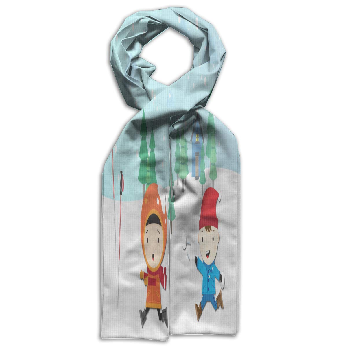 Kids Scarf Winter Weather Scarves Winter Warm Bandelet For Callant